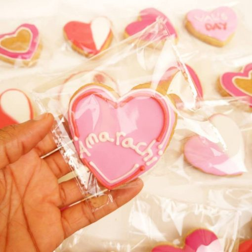 Love themed cookies -3